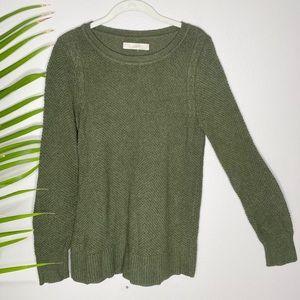 🌷 Loft green sweater